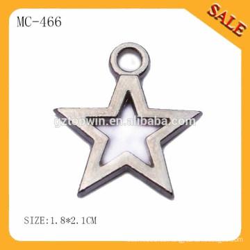 MC466 Großhandel benutzerdefinierte gravierte Maschine hängen Metall Schlüssel-Tags