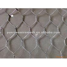 Red de alambre galvanizado hexagonal barato