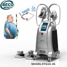 Equipamento do salão de beleza da perda de peso de Cryolipolysis (ETG50-4S)