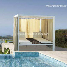 Outdoor Wicker Rattan Outdoor Daybed