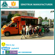 HOT SALE !!! Good quality mobile coffee food truck/ food warmer truck/ frozen food truck