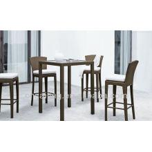 Роскошные прочные поли-плетеные высокие столы