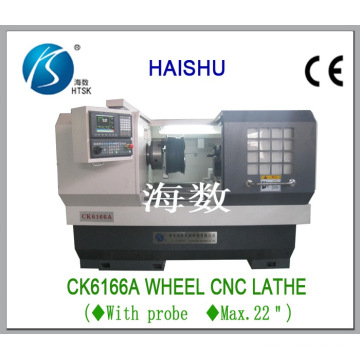 Car Wheel Polishing Lathe, Alloy Rim Polishing Lathe, CNC Lathe, Ck6166A