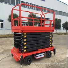 Ascending work electro-hydraulic work platform