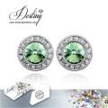 Destiny Jewellery Crystals From Swarovski Earrings New Round Earrings