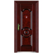 safty single leaf steel door