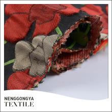 Top qualité de haute qualité élégant Jacquard femmes robe tissu