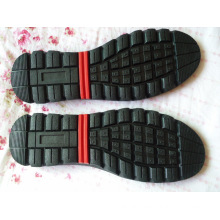 Men Leisure Sole Driver Sole Leather Shoes Sole (YXX03)