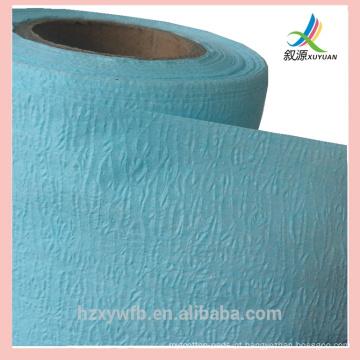 55% polpa de madeira 45% PET limpeza toalhetes produto industrial