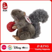 Personalized Soft Plush Toy Custom Squirrel Stuffed Animals