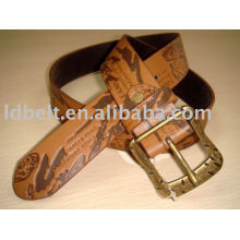 PU Belt fashion womens jeans leather belt
