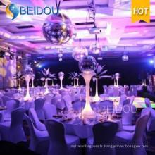 Événement personnalisé Mariage Miroir gonflable décoratif Boules de discothèque Boule de miroir gonflable