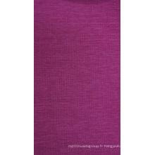 Tissu de polyester cationique de Ripstop de 300d avec le revêtement d'unité centrale