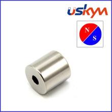 Imanes de neodimio de anillo de níquel de fuerza fuerte (R-009)