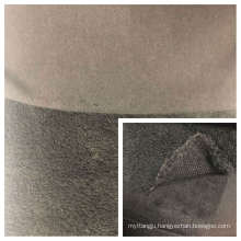 Shu Velveteen Fleece Bonded with T/C Knitted Fabric