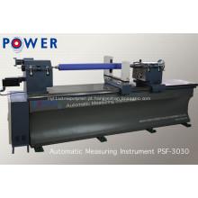 Máquina de teste de borracha PSF-3030 do laser da superfície do rolo