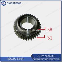 Engrenagem principal do eixo principal NHR / NKR 3RD Z = 31: 36 8-97174-923-0