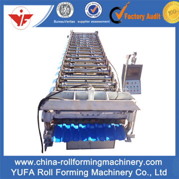 Quality for Roof Roll Forming Machine, Tile Roll Forming Machine | Roof Tile Roll Forming Machine russian Sheet Roof Panel Roll Forming Machine supply to Palestine Manufacturer