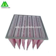 Filtre à air de compresseur de filtre de poche de l'industrie F5 F6 F7 F8 F9