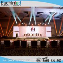 Écran LED de location de panneaux intérieurs flexibles en aluminium de moulage mécanique sous pression SMD 3535
