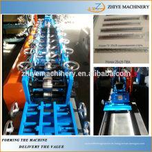 Acero metálico en forma de L marco de acero ligero que hace la máquina