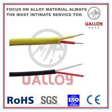 Câble de compensation de thermocouple isolé / tressé de type T PE