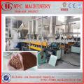 Máquina de granulação de granulação de plástico reciclado de plástico WPC