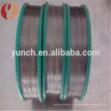 fil de tungstène de micron pour des enroulements de fil de chauffage