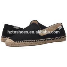 Chaussures plates pour hommes à espadrilles décontractées