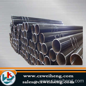 Customized for ERW Black Steel Pipe DN80 hot-dip galvanized steel pipe export to Botswana Exporter