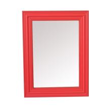 Plástico moldura espelho moldura para decoração de casa