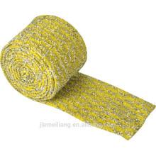 Material de la cocina Material de tela para la limpieza de esponja friegue la materia prima paño de esponja en rollos