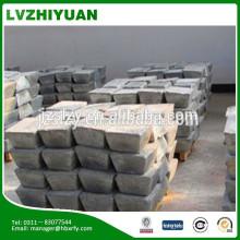 silver solid wooden box 99.9% antimony ingot price CS-1846T