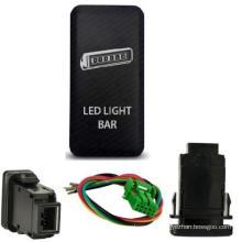 CH4X4 Toyota Push Switch LED Light Bar Symbol 2 - Amber LED
