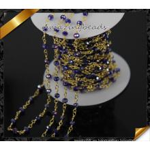 Último cristal de diseño cadena de oro cadena cadena de oro (jd009)
