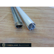 Anodized Head Tube for Curtain Blind with Anodized Silver or Powder Coated White
