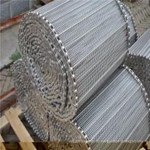 Проволока из нержавеющей стали сетки конвейерной лентой для доставки еды