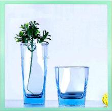 2016 Горячий-Sale вел свободную цветастую прозрачную стеклянную чашку воды оптом