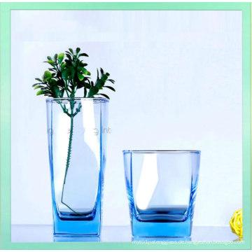 2016 Heiß-Verkauf Blei Freie bunte klare Glas Wasser Tasse Großhandel