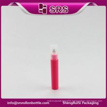 Hot sale manufacturer new style roseo 7ml sample mini bottle and plastic roll on bottle for eye cream