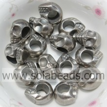Factory made hot-sale for Evil Eye Beads Hot Sell 9*13MM Skull Shape Acrylic Crystal Acrylic Beads export to Malaysia Supplier