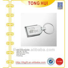 Four Season SPA laser logo keychain/keyring metal