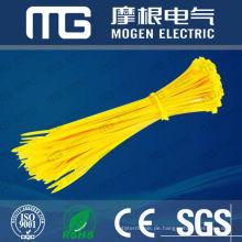 Fabrik liefern gute Isolierung Korrosionsbeständigkeit Nylon 66 nummeriert Kabelbinder