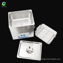 Nettoyeur à ultrasons chauffé numérique réglable de puissance de chauffage 30L TP30-800C, 800W