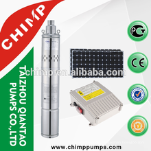 DC Solar Powered Submersible Water Pump for Agriculture
