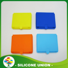 New design promotion silicone cosmetic mirror