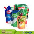 Großhandels-preiswerte kundengebundene Entwurfs-Gel-Verpackung stehen oben Tüllen-Beutel für Honig