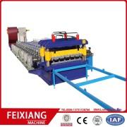 FX960 glaserad kakel rulla bildar maskin för takläggning