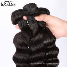 Rohe Jungfrau-brasilianische Haar-Erweiterungs-Verkäufer China-Lieferanten-tiefe Welle