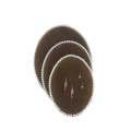 Round Cardboard Flock Earring Necklace Display Set (PE-BF-K1/ PE-BF-K2 /PE-BF-K3)